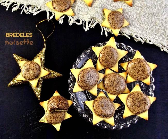 Biscuits Noël en forme d'étoile