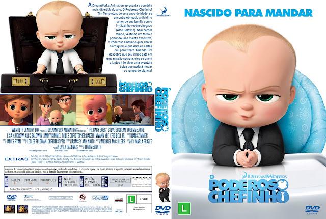 Capa DVD O Poderoso Chefinho [Custom]