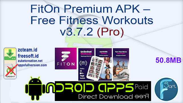 FitOn Premium APK – Free Fitness Workouts v3.7.2 (Pro)