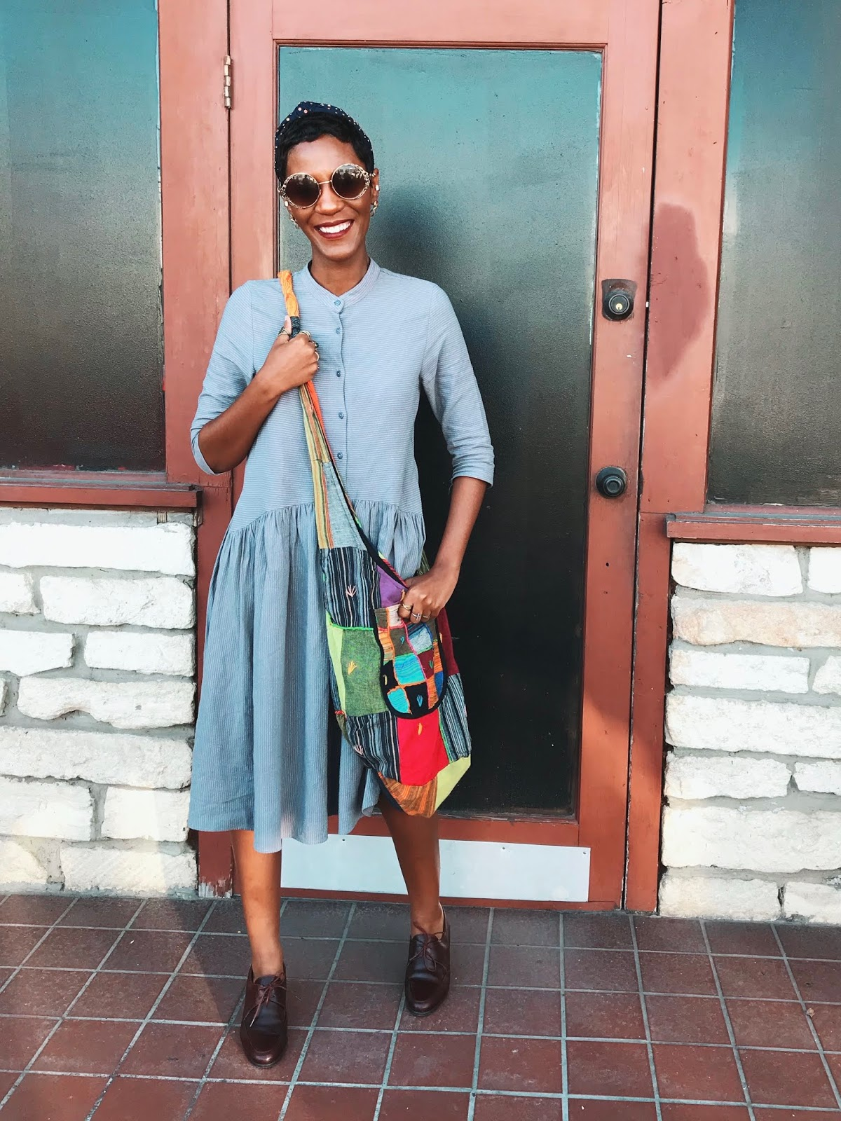 The ONE Simple Way I Am Styling My Boho Chic (Patchwork) Handbag This Spring