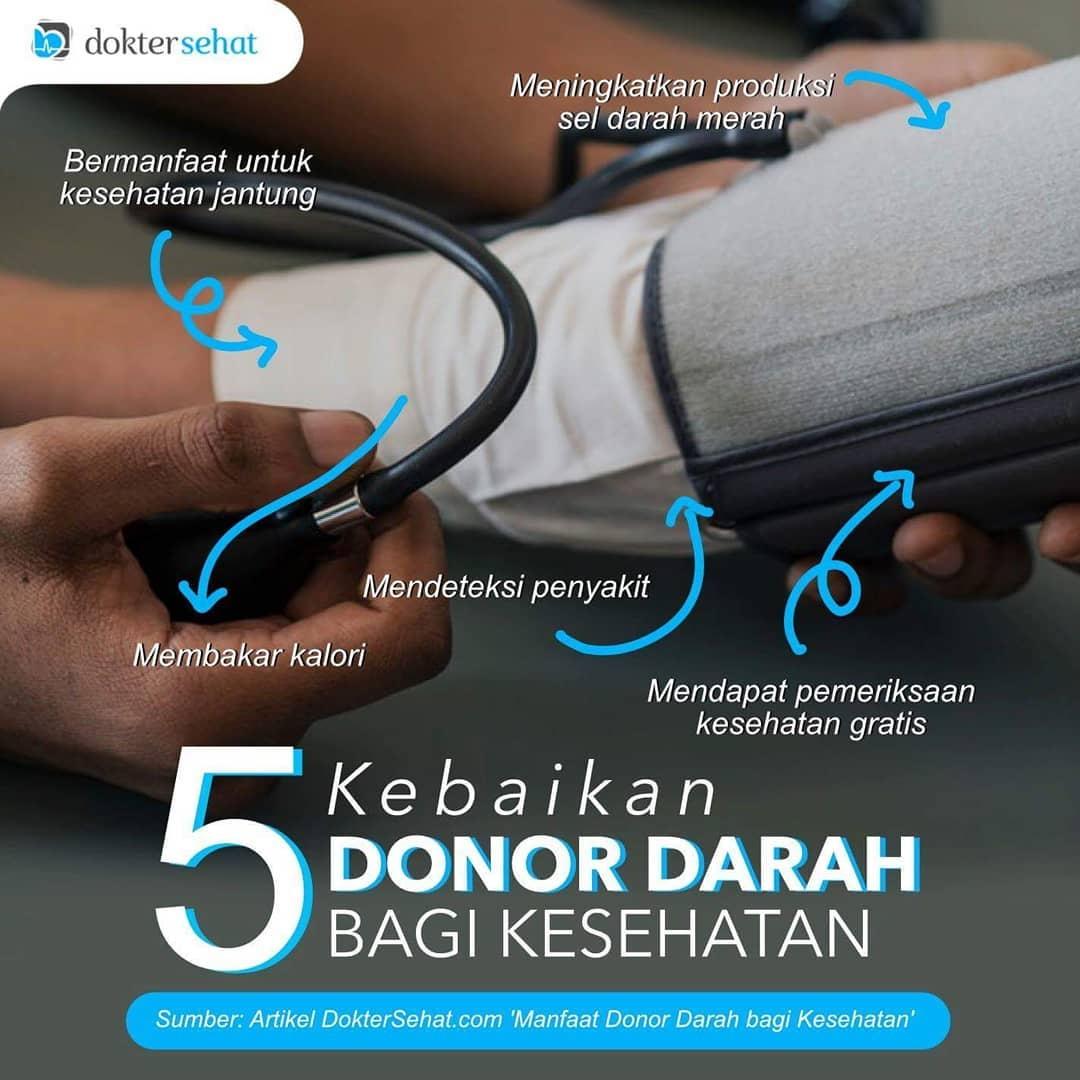 Kebaikan Donor Darah
