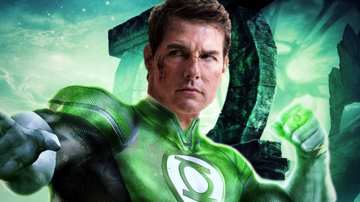 Tom Cruise as the New Green Lantern