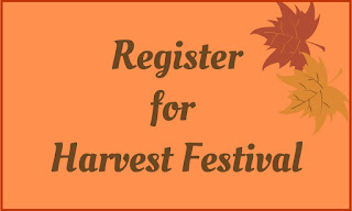 Harvest Festival Registration is Open!