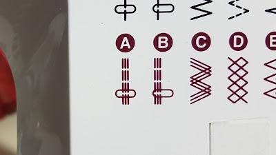 costura elastica decorativa con maquina de coser casera