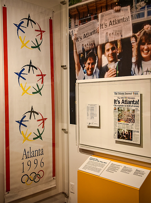 """It's Atlanta!"" 