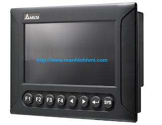 Màn hình giao diện cảm ứng HMI Delta 7 inch loại có phím bấm