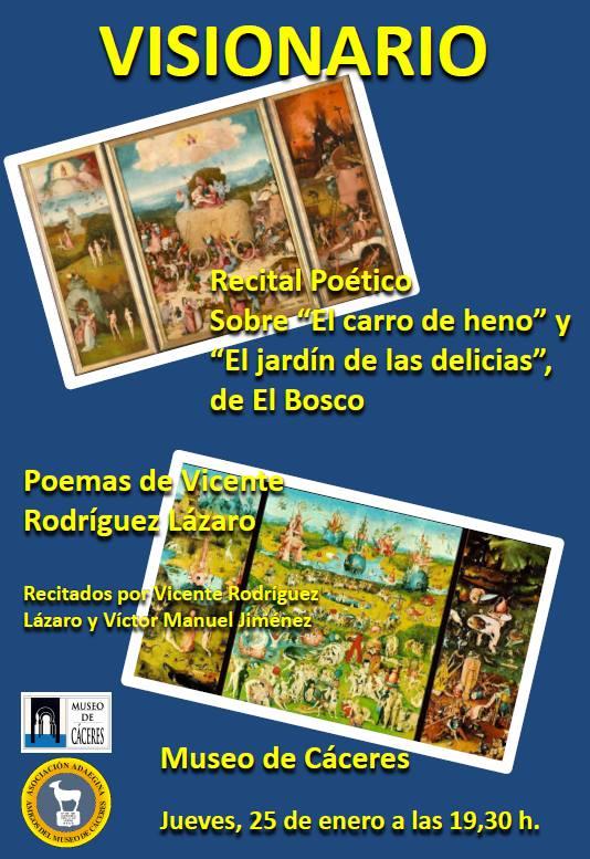 Letras cascabeleras a c visionario recital po tico for El jardin de las letras