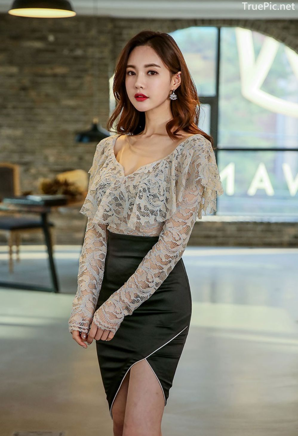 Korean Fashion Model - Hyemi - Indoor Photoshoot Collection - TruePic.net - Picture 9