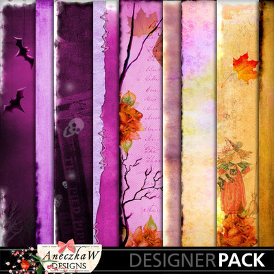 Digital scrapbooking Halloween papers