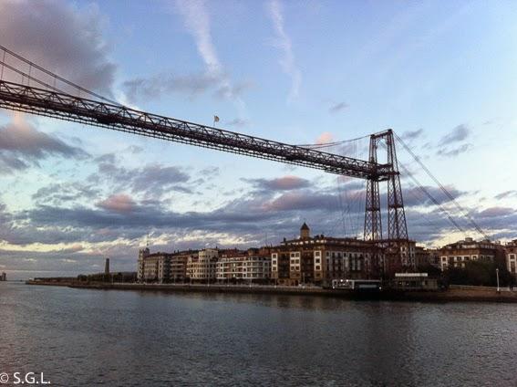 El puente de Portugalete. El puente de Vizcaya, el mejor puente colgante