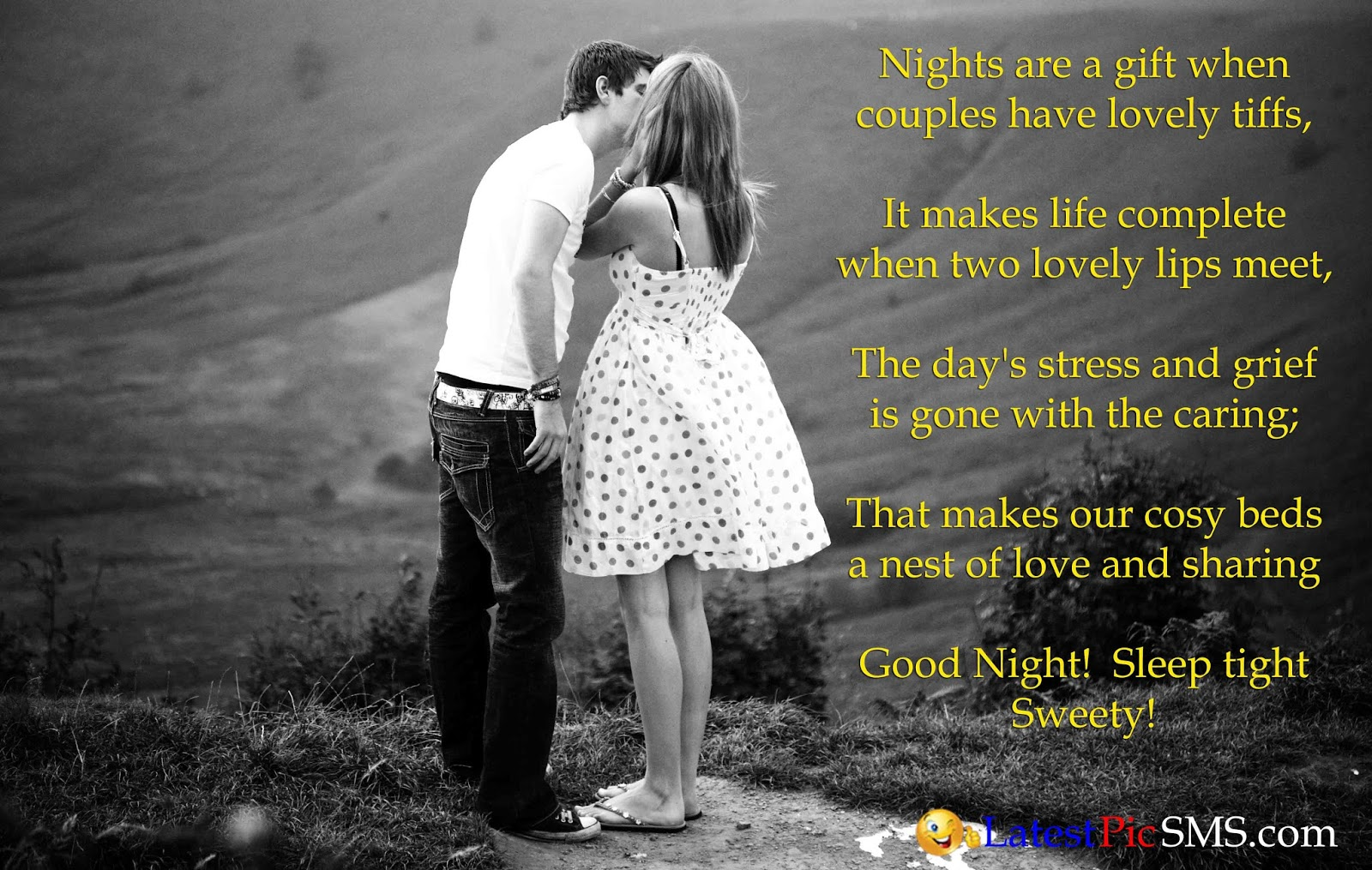 good night love photos quotes