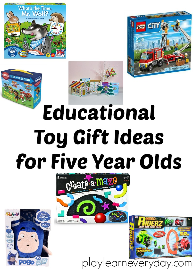 Toys For 5 Year Olds : Educational toy gift ideas for year olds play and