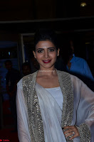 Samantha Ruth Prabhu cute in Lace Border Anarkali Dress with Koti at 64th Jio Filmfare Awards South ~  Exclusive 027.JPG