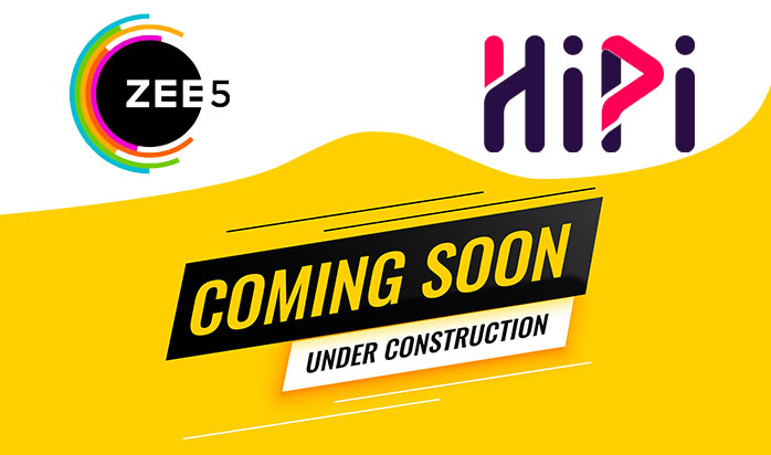 hipi app by zee5 coming soon