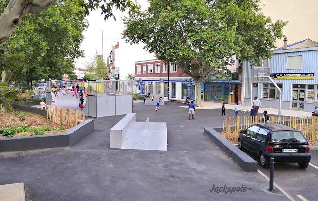 Skatepark montreuil croix de chavaux