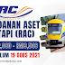 Jawatan Kosong Perbadanan Aset Keretapi (RAC) ~ Pelbagai Jawatan Kosong