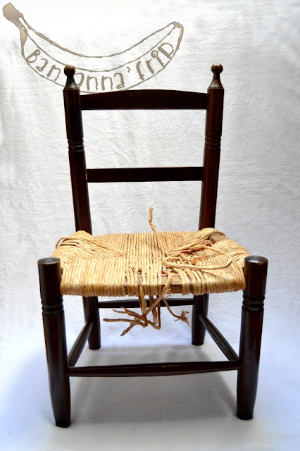 petite chaise paysanne. Black Bedroom Furniture Sets. Home Design Ideas