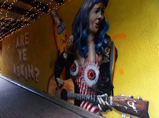 Arte urbano de Glasgow.