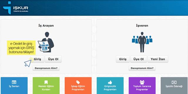 İŞKUR'un sunduğu hizmetlerden faydalanabilmek için kayıtlı kullanıcı olunması gerekiyor. Peki İŞKUR internet şubesine nasıl kayıt yaptırılır?