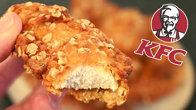 recette, poulet, kfc, tenders, croustillants, 11 épices