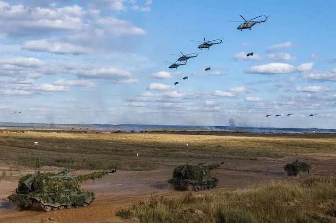Zapad2021-रूस अटा जपड़ भारतीय सेना के 200 जवानों ने दिखाई अपनी फायर
