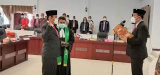Batahan Siringo-ringo Resmi Dilantik jadi DPRD Samosir PAW