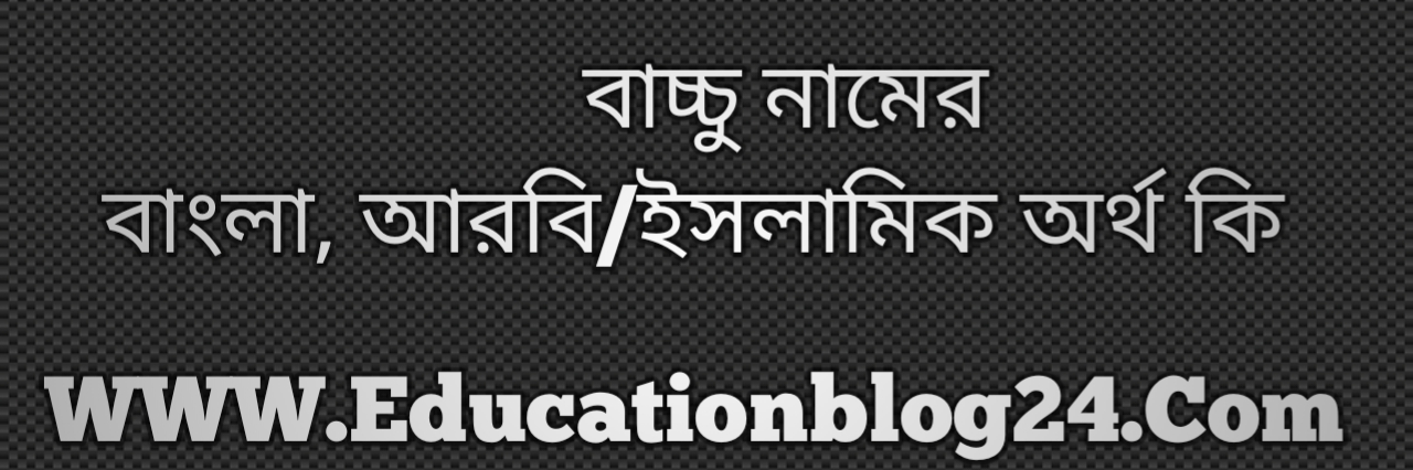 Bacchu name meaning in Bengali, বাচ্চু নামের অর্থ কি, বাচ্চু নামের বাংলা অর্থ কি, বাচ্চু নামের ইসলামিক অর্থ কি, বাচ্চু কি ইসলামিক /আরবি নাম