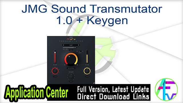 JMG Sound Transmutator 1.0 + Keygen