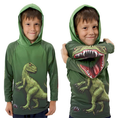 Sudadera, buzo o chompa muy ingeniosa con dinosaurio