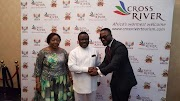 Photos: Iyanya appointed Cross River state ambassador