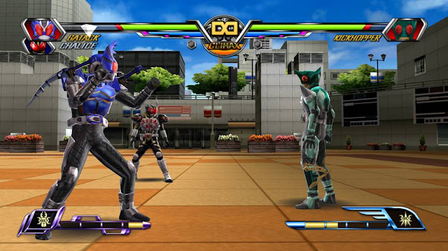 Kamen Rider Chou Climax Heroes PSP GAME ISO gameplay