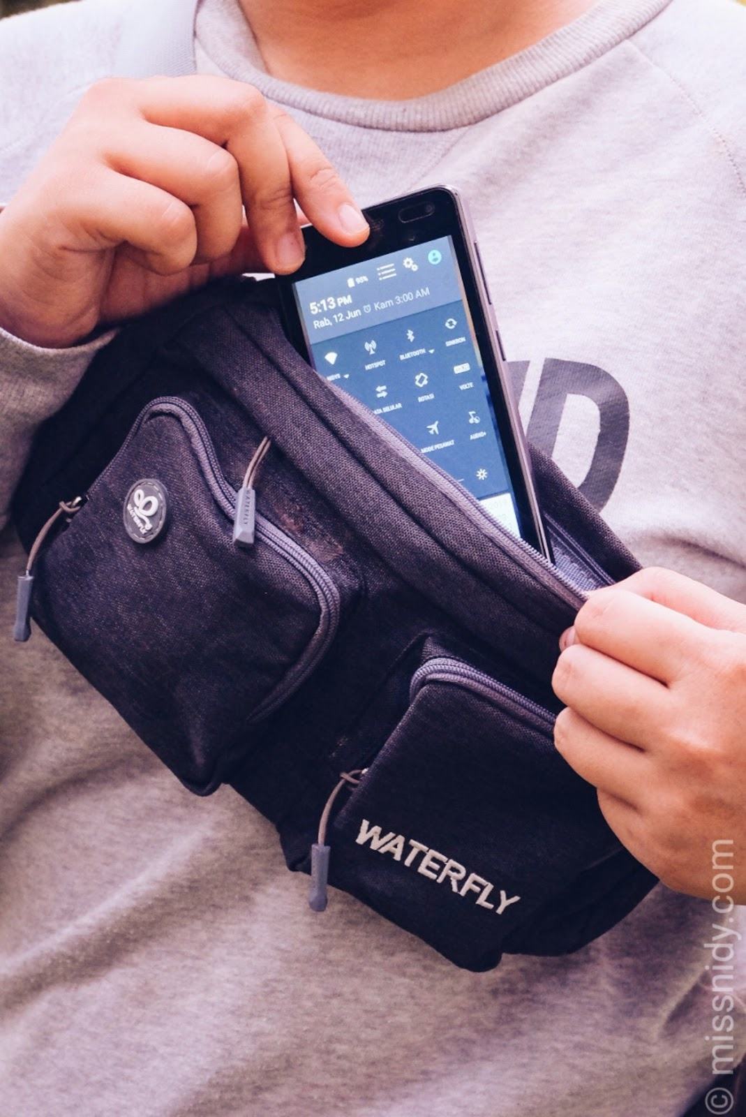 sports waist bag g2 waterfly