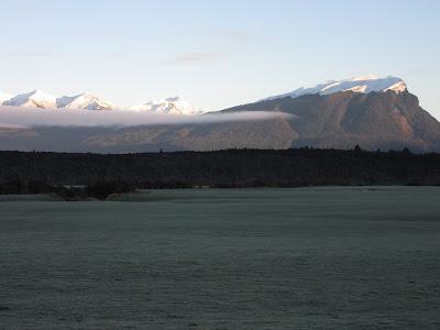 Paisajes de la carretera Milford. Parque Nacional Fiordland, Nueva Zelanda