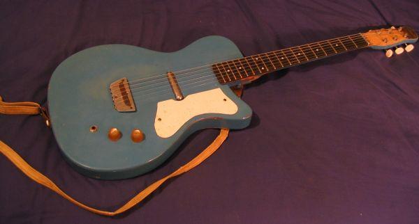 Craigslist Vintage Guitar Hunt 1960 Silvertone Danelectro U 1 In