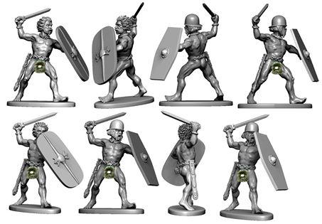 Victrix: New Modular Plastic Gallic Infantry