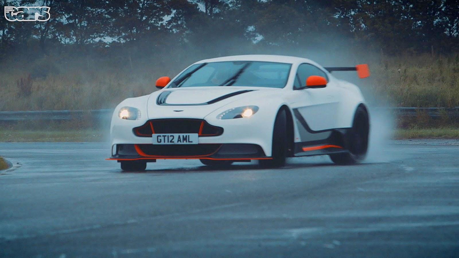 Watch Chris Harris Get The Aston Martin Vantage GT12 Sideways