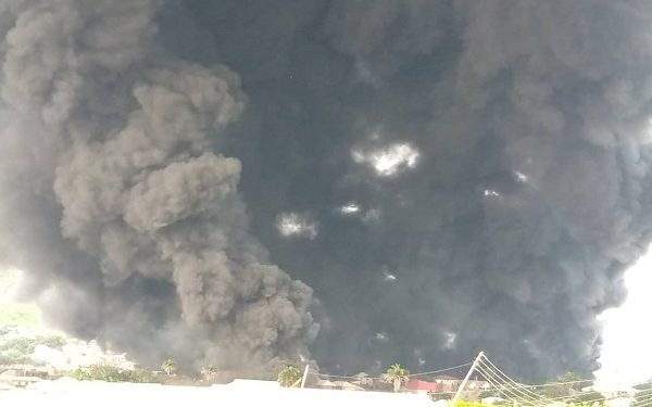 Many feared dead including school children in tanker explosion
