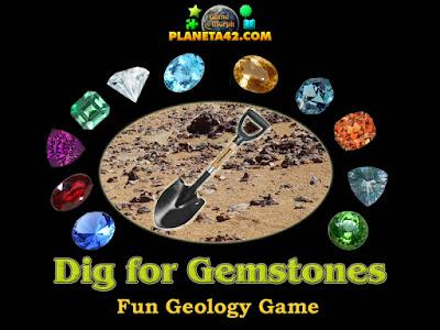 Разкопки за Скъпоценни Камъни Онлайн Игра