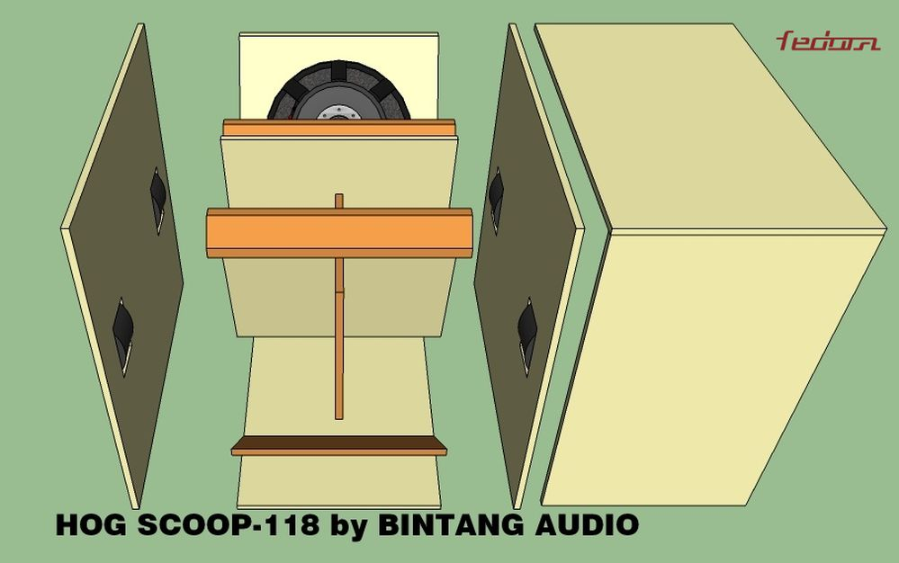 Tampak Atas Speaker Plans Hog Scoop