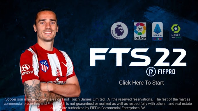 FTS 22 Download Latest Version (Griezmann In A.Madrid) Apk Obb Data । First Touch Soccer 2022