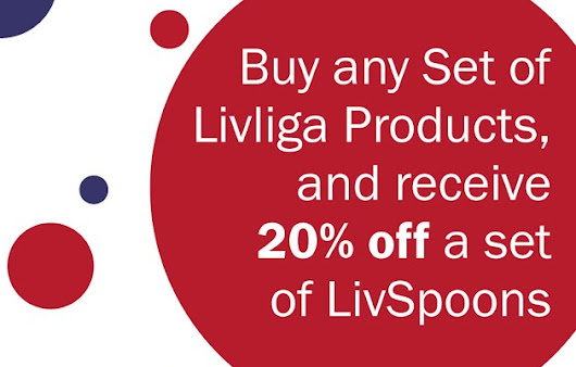 Livliga's President's Day Weekend Sale! With HEALTHY SAVINGS!!