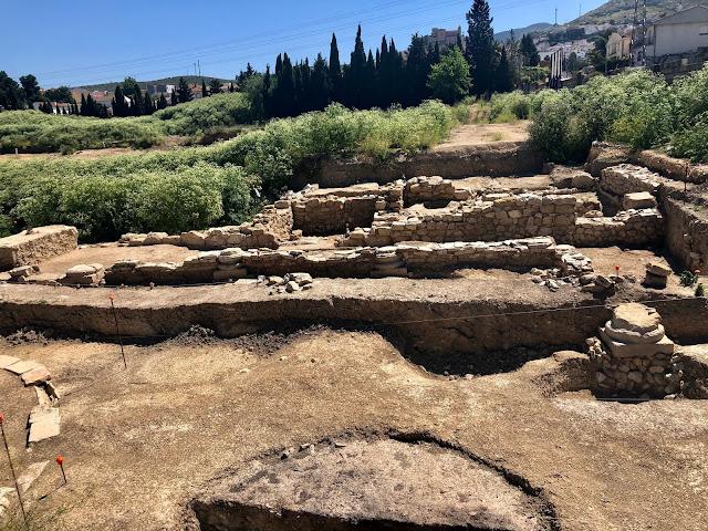 Villa romana de los Pilares en la ciudad de Martos