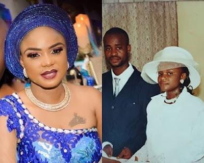 Iyabo ojo and husband wedding pictures