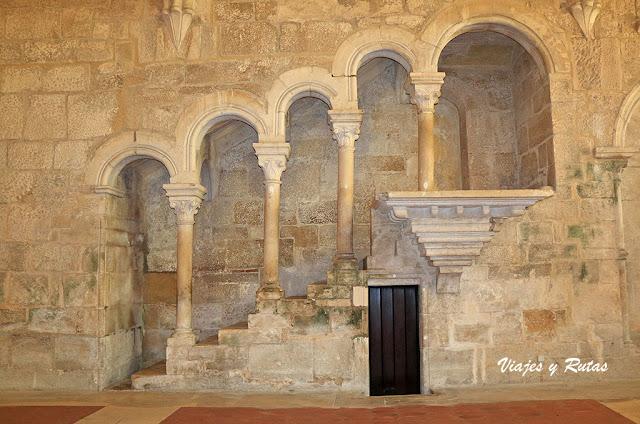 Púlpito del refectorio del Monasterio de Alcobaça