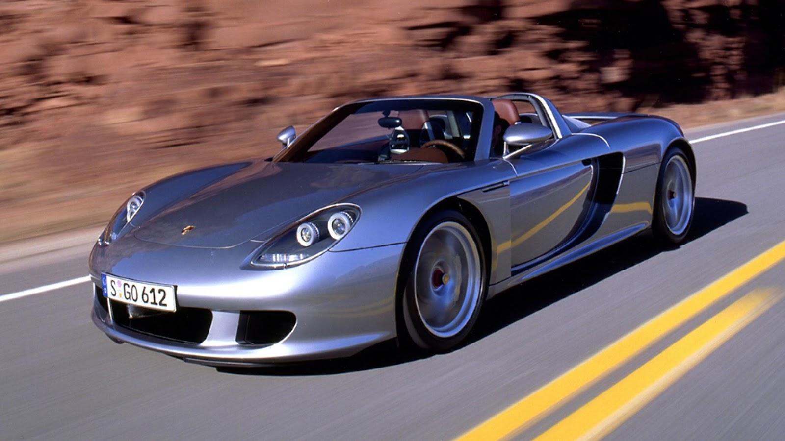 9: Porsche Carrera GT