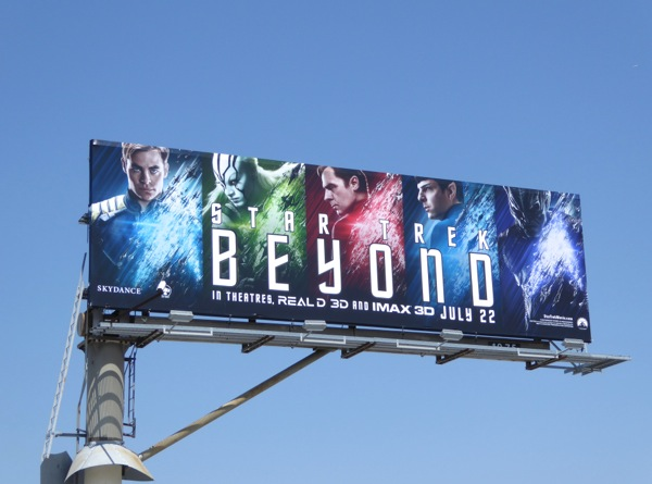 Star Trek Beyond movie billboard