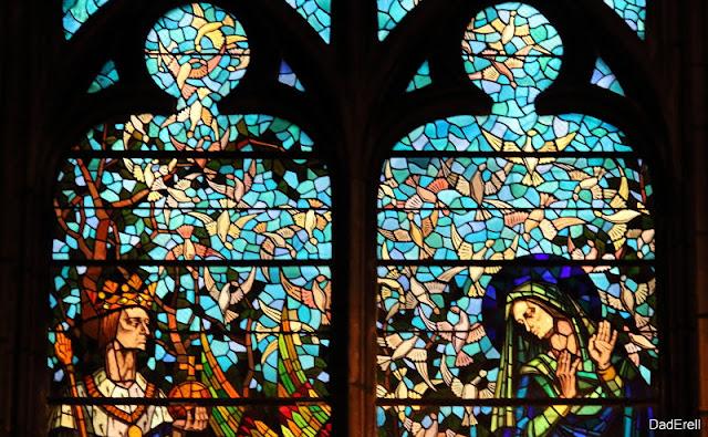 Vitrail, église Saint Bonaventure, Lyon