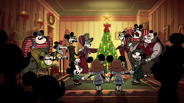 Mickey's family