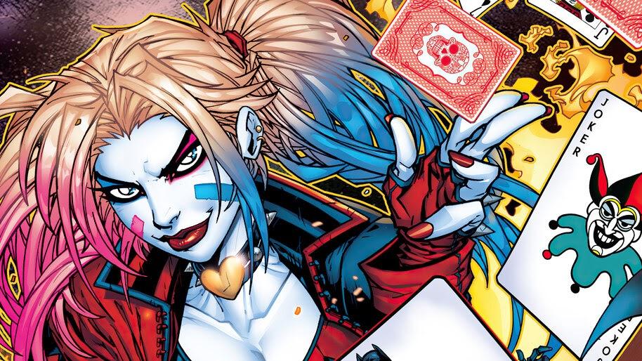 Harley Quinn, Cards, DC, Comics, 4K, #6.1975