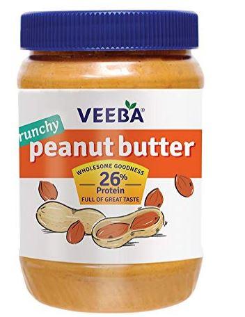 Veeba Crunchy Peanut Butter, 1 Kg
